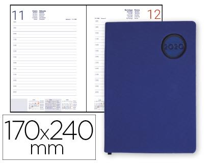 Agenda 2020 día página 17 x 24 cm Kilkis Azul