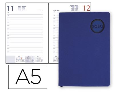 Agenda 2020 día página A-5 Kilkis Azul