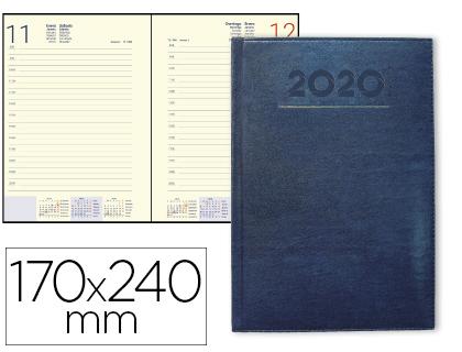 agenda 2020 dia pagina azul