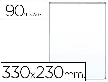Fundas portadocumentos en PVC 90 micras folio (230 x 330mm) 100 unds