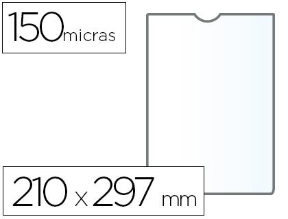 Fundas portadocumentos en PVC 150 micras A4 (210 x 297mm) 25 unds