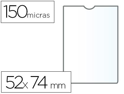 Fundas portadocumentos A-8 en PVC 150 micras 25 unds