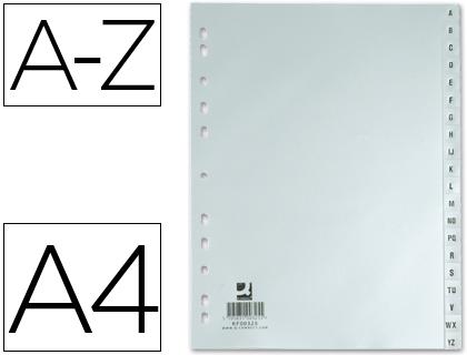 separadores de archivador abecedario