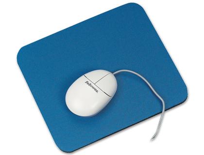 Alfombrilla para ratón Económica color azul