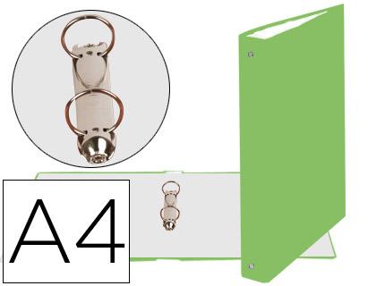 carpeta de 2 anillas verde claro