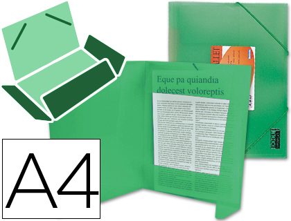 polipropileno din a4 verde