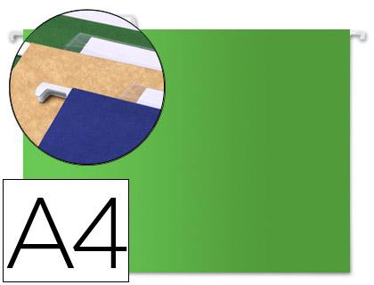 carpetas colgantes verdes