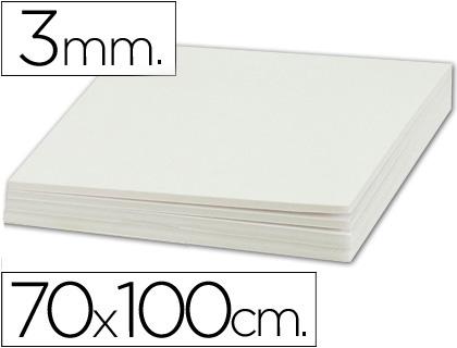 Cartón pluma blanco 3 mm 100x70