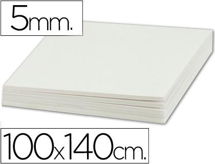 Cartón pluma blanco 5 mm 100x140