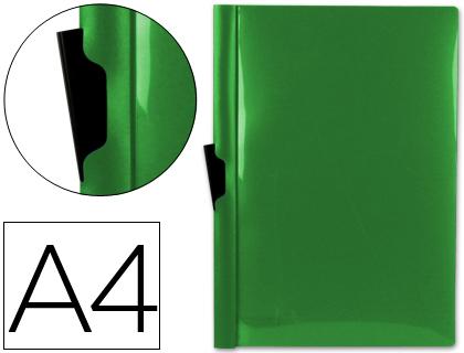 Dossier con pinza lateral para 30 hojas