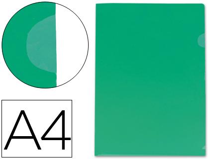 Dossier con uñero tamaño Din A4 color verde