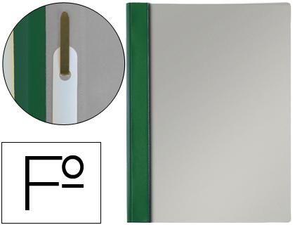 Dossier de presentación con fástener tamaño folio color verde