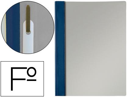 Dossier de presentación con fástener tamaño folio azul marino