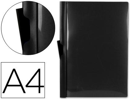 Dossier con pinza lateral para 30 hojas A-4 color negro