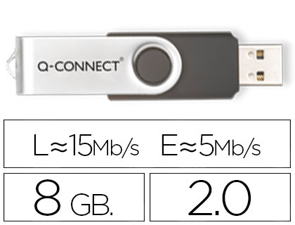 Memoria flash USB 2.0 de 8 Gb
