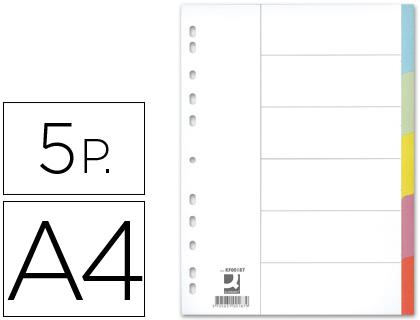 juego de 5 separadores din a4