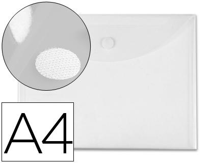 a4 cierre de velcro transparente