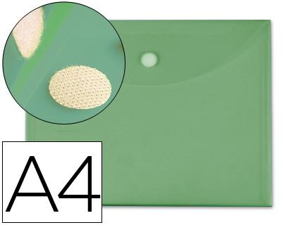 a4 cierre de velcro verde