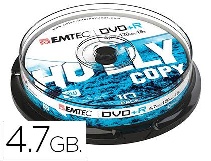 10 dvd+r