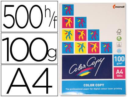 Papel para láserA-4 satinado 100 grs. Color Copy 500 hojas
