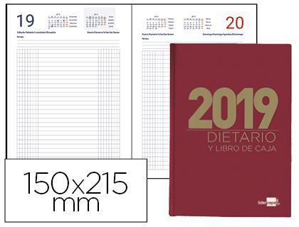 Dietario 2019 de 15 x 21,5 cm