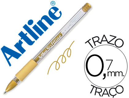 Bolígrafo Softline 1900 tinta gel Oro