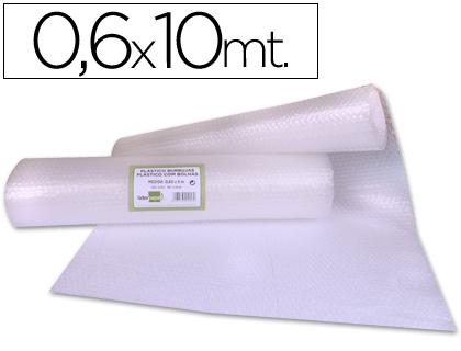 Plastico burbuja liderpapel 0.60x10m.