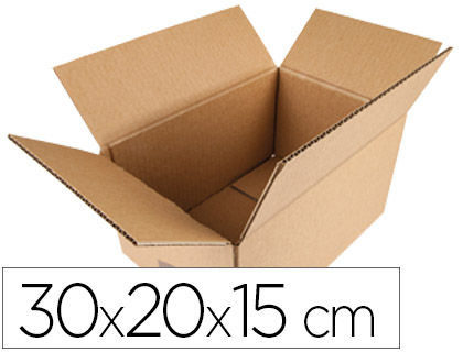 Caja de embalaje de 30 x 20 x 15 cm (10 unds)