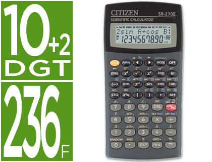 calculadora cientifica Citizen Sr-270N