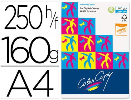 Papel para láser A-4 satinado 160 grs. Color Copy 250 hojas
