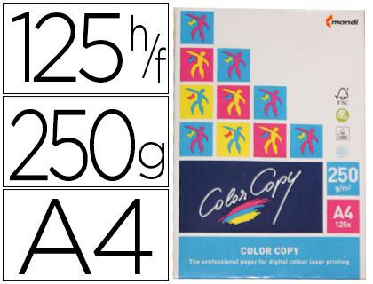 Papel para láser A-4 satinado 250 grs. Color Copy 125 hojas