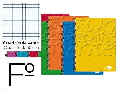 Cuaderno espiral tamaño folio