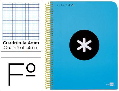 cuaderno escolar Antartik