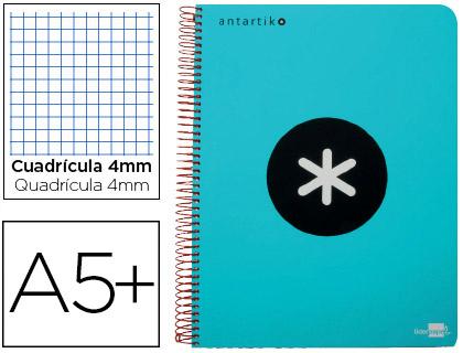 cuaderno antartik turquesa