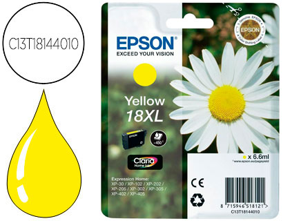 epson 18xl amarillo