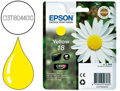 epson t1804 amarillo