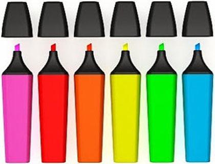 Marcadores fluor