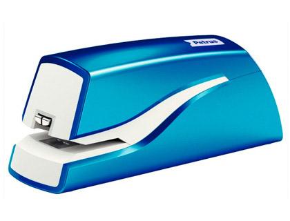 Grapadora petrus electrica e-310 wow azul metalizado