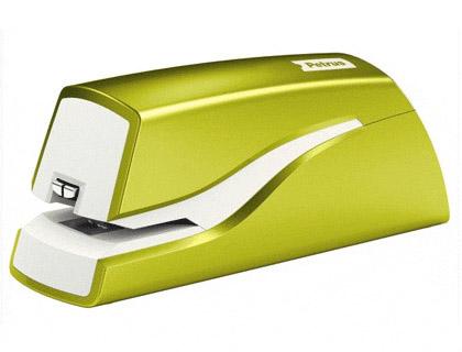 Grapadora petrus electrica e-310 wow verde metalizado