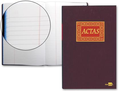 Libro liderpapel folio 100 h. -actas.