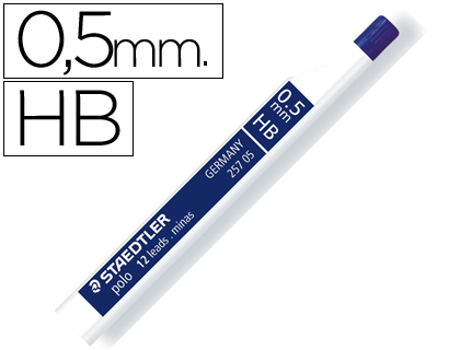 Minas staedtler grafito 0,5 mm