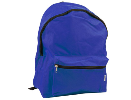 Mochila escolar color azul práctica y también resistente