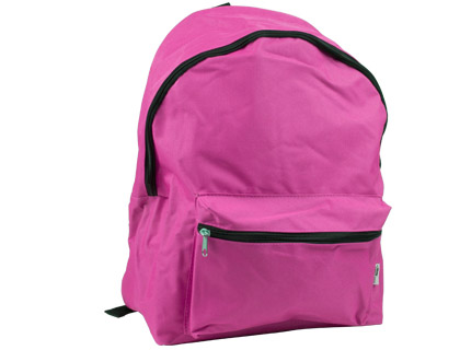 Mochila escolar color rosa Liderpapel