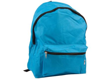 Mochila escolar color azul turquesa práctica y también resistente
