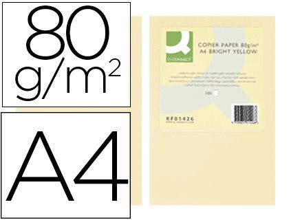 a4 80gr crema paquete de 500 hojas