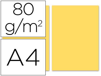 Papel crema A-4 80 grs. 100 hojas