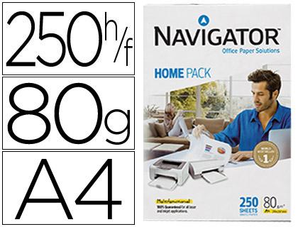 Papel A-4 Navigator Home 80 grs (250 hojas)