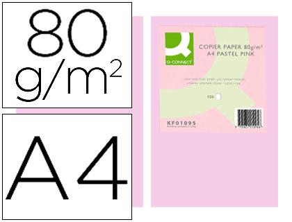 a4 80 gr rosa paquete de 500 hojas