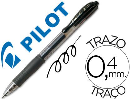 Bolígrafo Pilot G-2 tinta gel negro