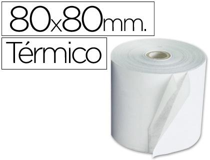 Rollo de papel TÉRMICO para tpv de 80 x 80 (envase de 5 unds)